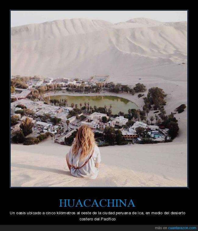 huacachina,oasis,perú