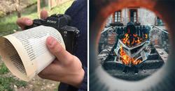 Enlace a Este fotógrafo usa trucos muy creativos para crear increíbles fotos