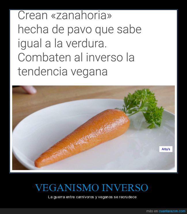 pavo,sabor,veganos,verdura,zanahoria