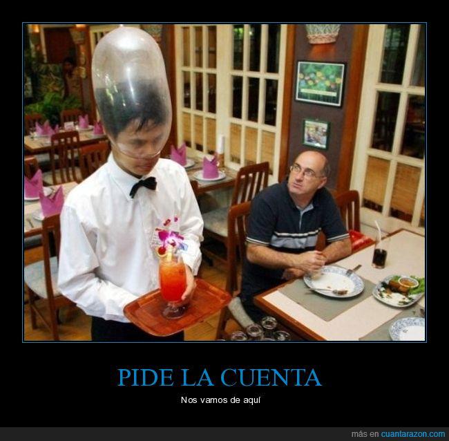 cabeza,camarero,condón,wtf