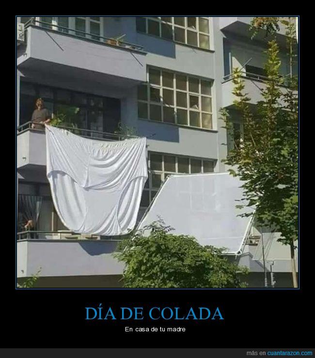 balcón,giganta,ropa interior,wtf