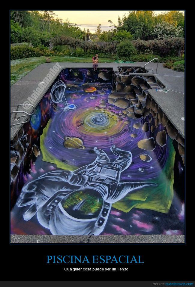arte,espacio,piscina