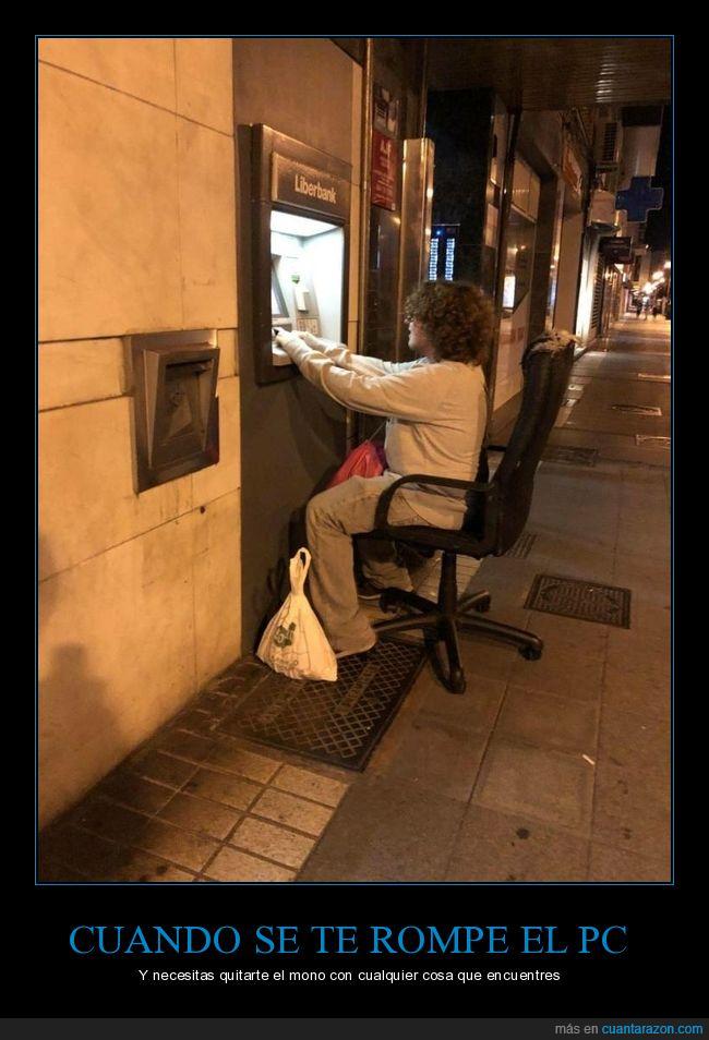 cajero automático,silla,wtf