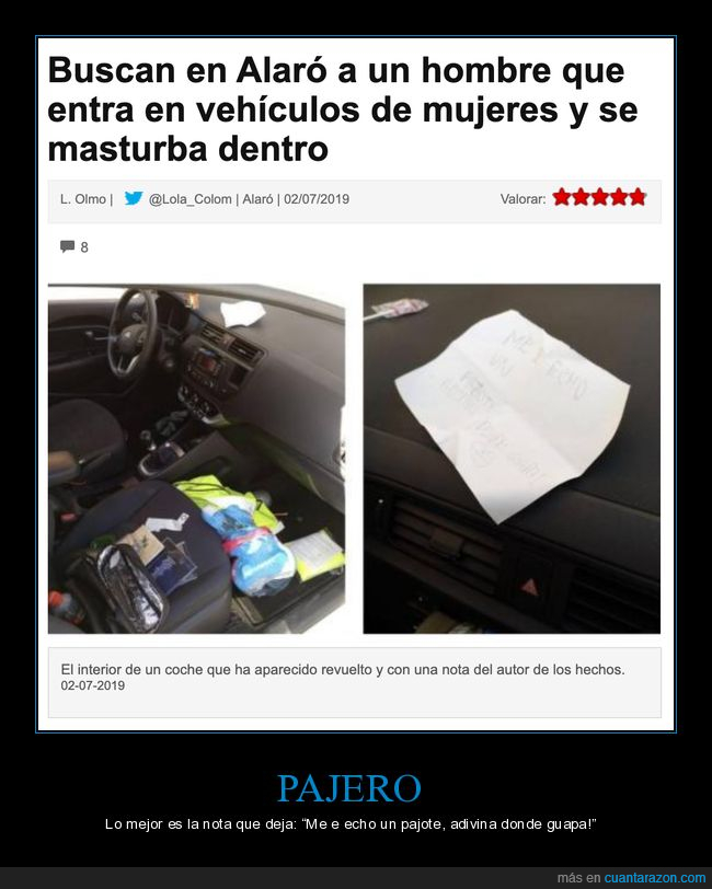 coches,nota,wtf
