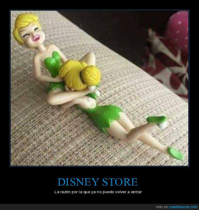 campanilla,disney store,lesbianas,muñecas