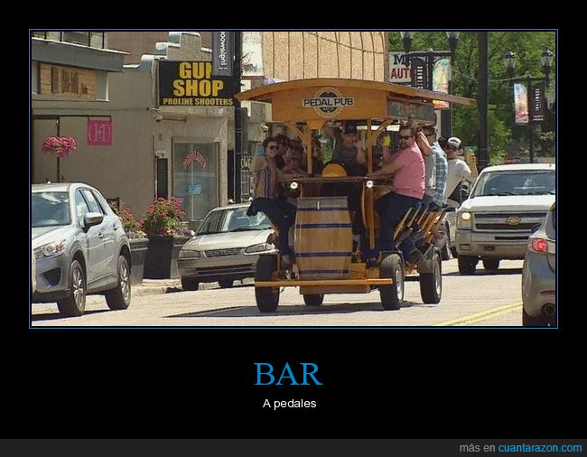 bar,pedalear,wtf