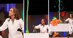 Enlace a Esta bioquímica de 24 años se convierte en Miss Virginia tras realizar un experimento científico para mostrar su talento