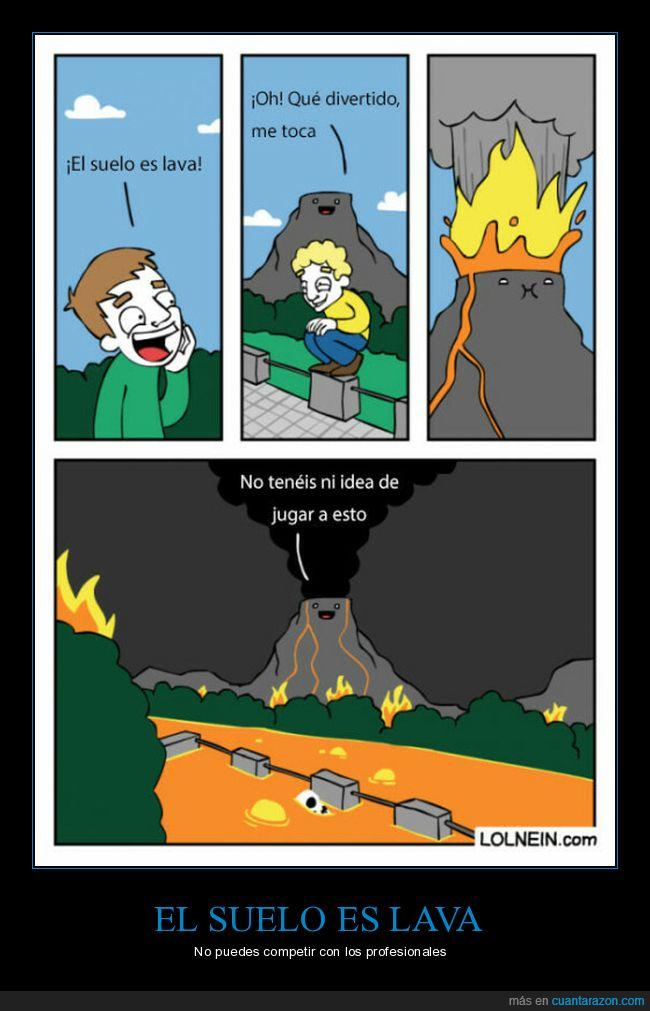 lava,suelo,volcán