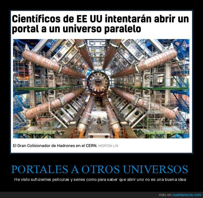 científicos,eeuu,portal,universo paralelo
