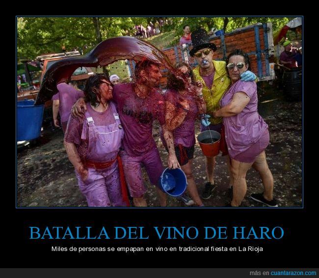 batalla del vino de haro,la rioja