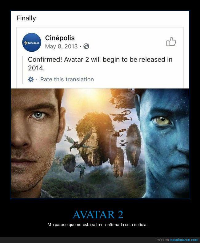 2014,avatar,avatar 2,fails
