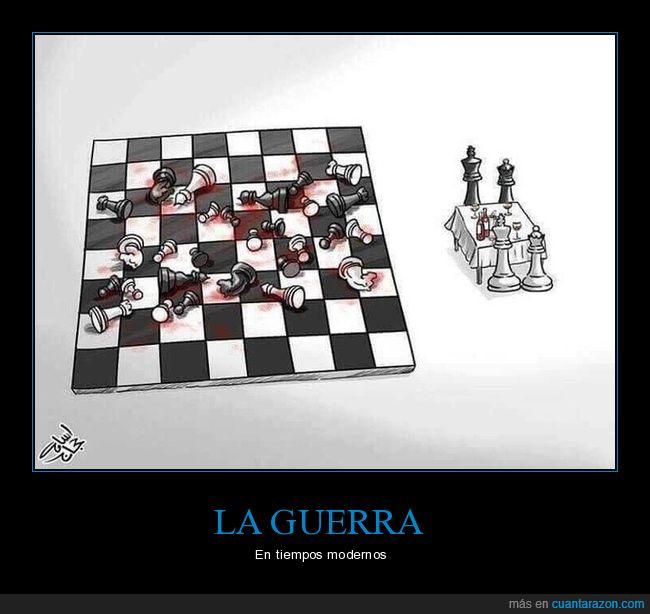 ajedrez,guerra