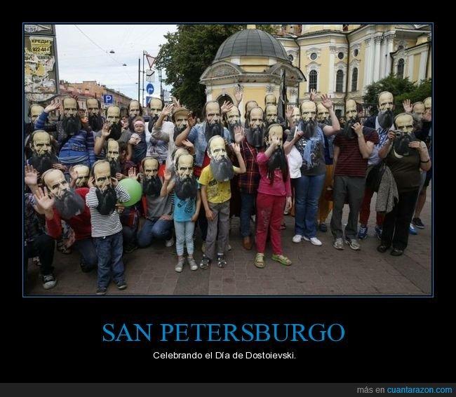 caretas,dostoievski,san petersburgo