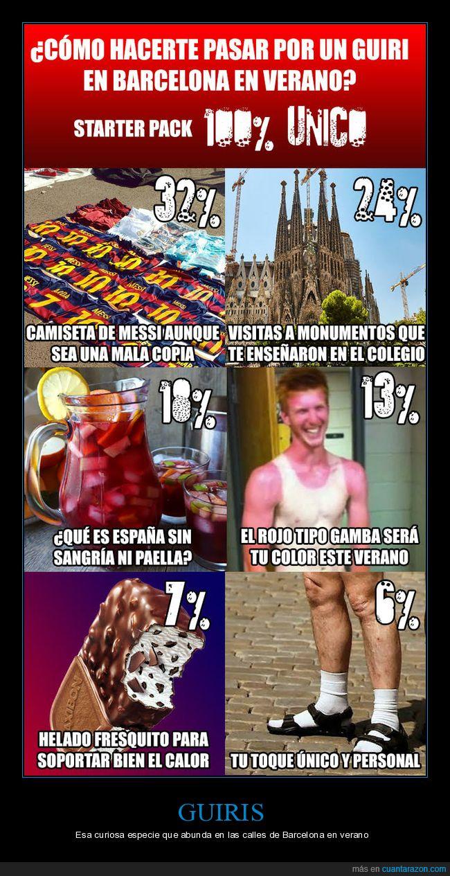 barcelona,guiris,starter pack,turistas,verano