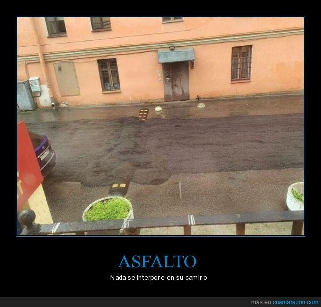 asfalto,badén,fails