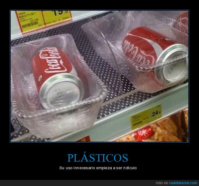 cocacola,lata,plástico,wtf