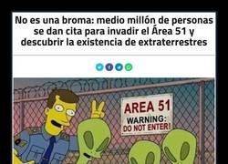 Enlace a Inminente asalto al Área 51