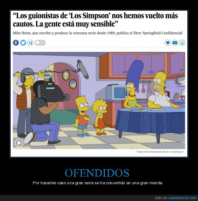 cautos,gente,guionistas,sensible,simpsons