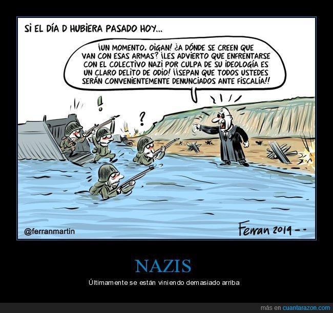 armas,delito de odio,día d,juez,nazis,soldados
