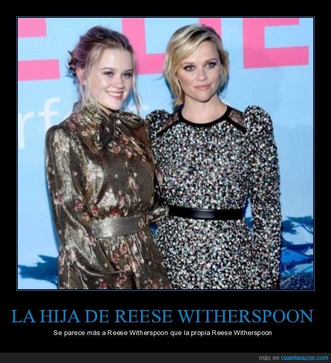 hija,parecidos,reese witherspoon