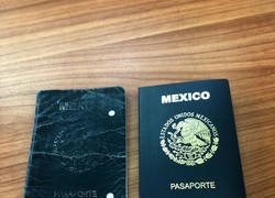 Enlace a Pasaportes que podrían contar muchas historias