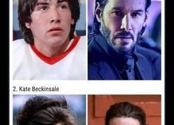 Enlace a Antes y después de actores desde sus primeros papeles hasta el más reciente