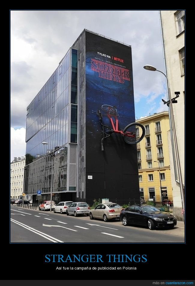 polonia,publicidad,stranger things