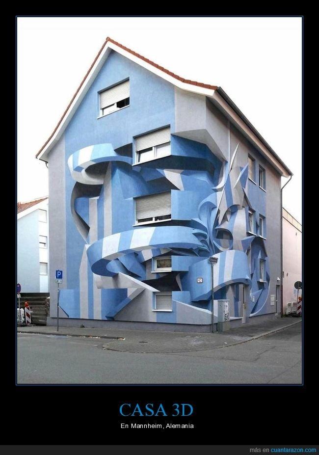 3d,alemania,casa,pintura