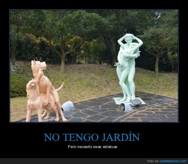 estatua,estatuas,gesto,perros,personas