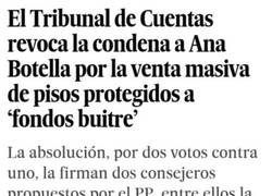 Enlace a Ana Botella se va de rositas