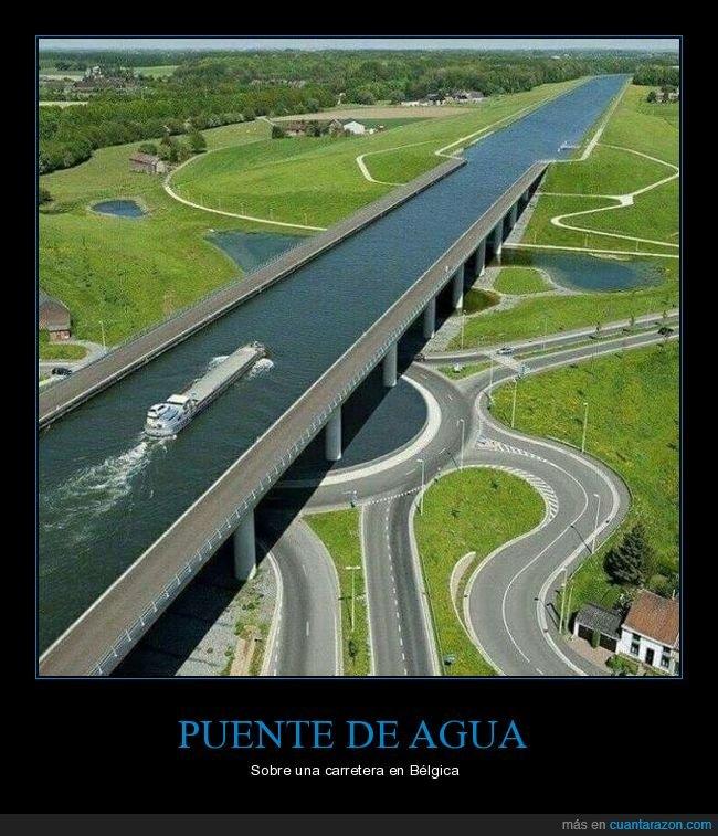 agua,bélgica,carretera,puente