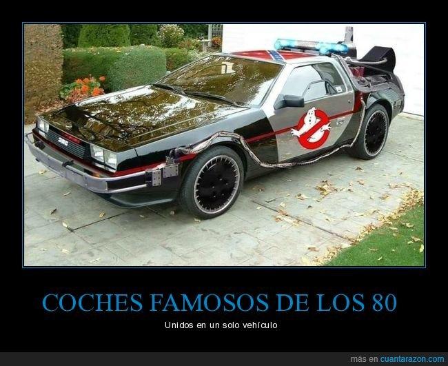 años 80,coches,películas