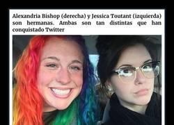 Enlace a Estas fotos de dos hermanas radicalmente distintas y sus hogares se han vuelto virales en Twitter