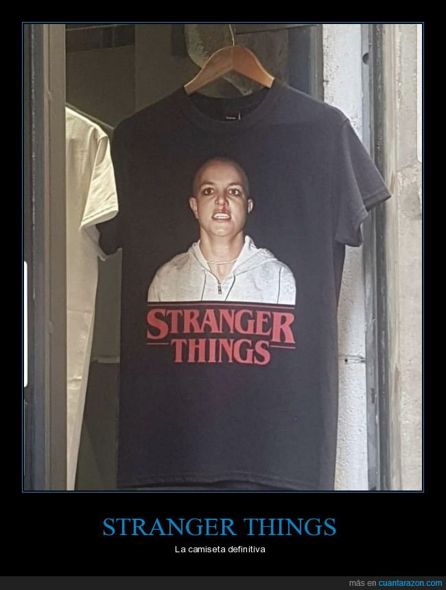 britney spears,camiseta,stranger things,wtf