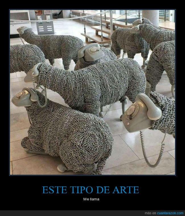 ovejas,teléfonos,wtf