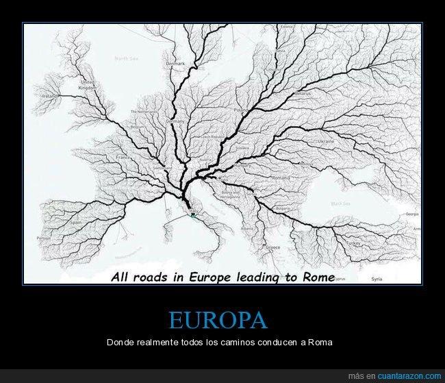 caminos,europa,roma