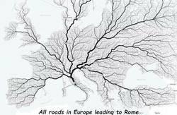 Enlace a Todos los caminos conducen a Roma