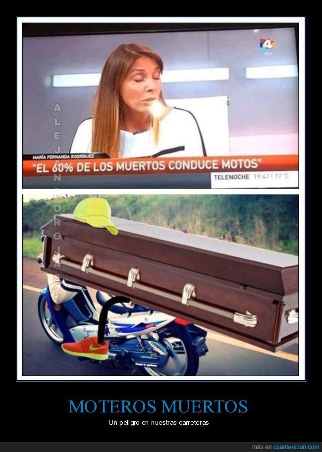 ataúd,conducir,motociclismo,muertos
