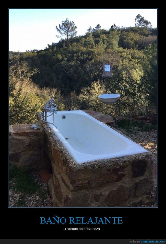 bañera,campo,wtf