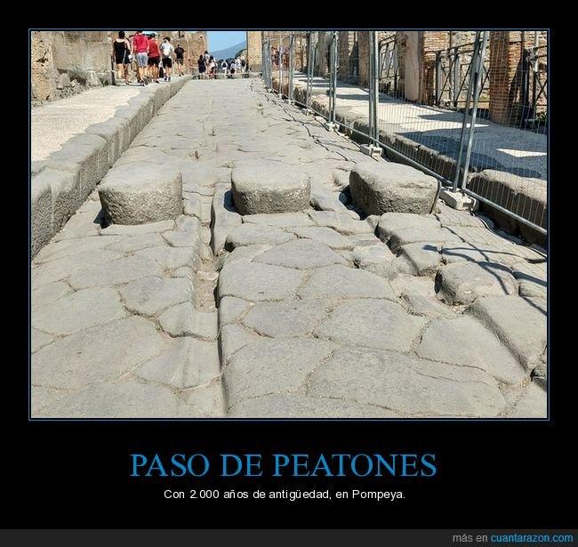 antiguo,paso de peatones,pompeya