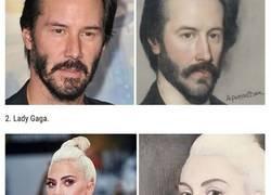 Enlace a Esta inteligencia artificial transforma las fotos en pinturas del siglo XV y así lucen 30 celebridades