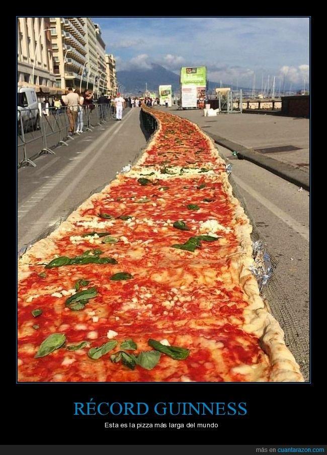 larga,pizza,récord