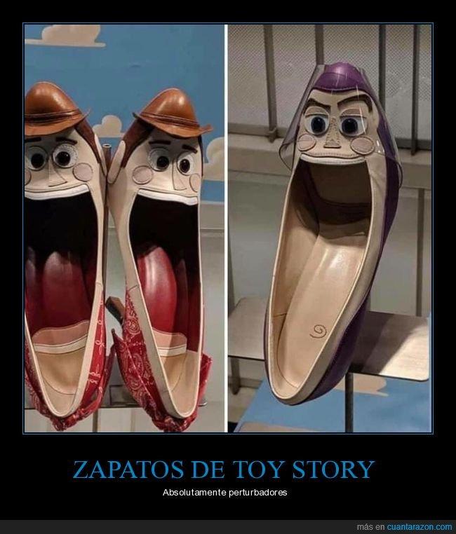 perturbadores,toy story,wtf,zapatos