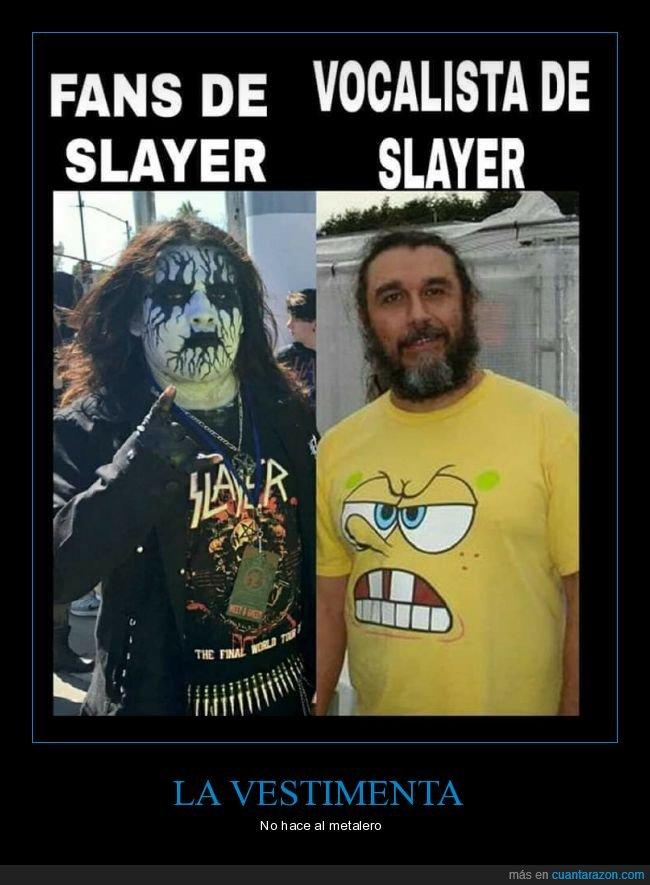 fans,ropa,slayer,vocalista
