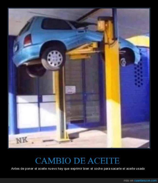 aceite,coche,exprimir,fail,nuevo,taller,usado