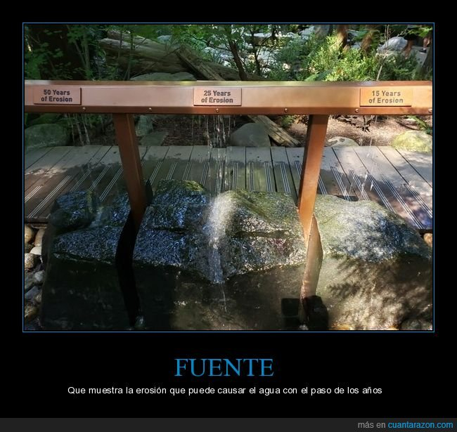 agua,curiosidades,erosión,fuente
