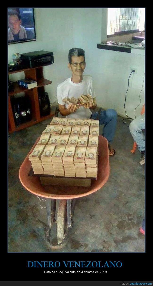bolívares,dinero,dólares,venezuela