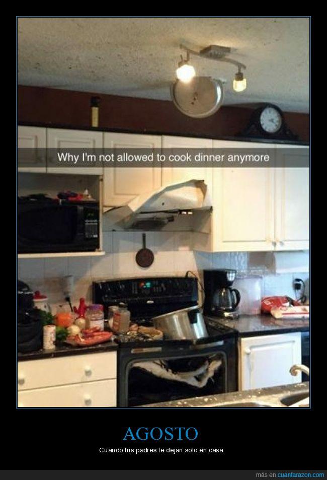 cocina,cocinar,liada,quemar