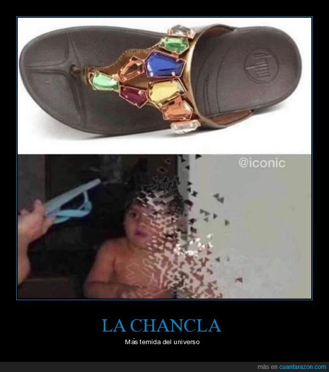 chancla,gemas,madre,thanos