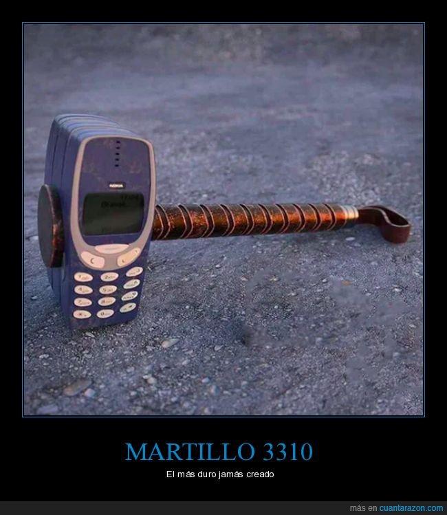martillo,nokia 3310